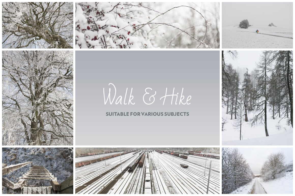 Winter & Snow Photo Pack