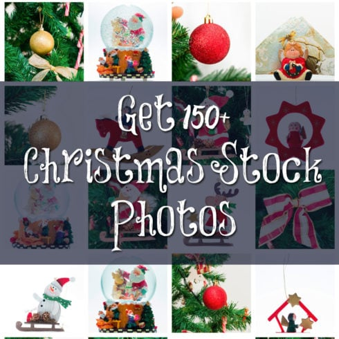 Get 150+ Christmas Stock Photos with Extended License for only $15 - 490 1 490x490