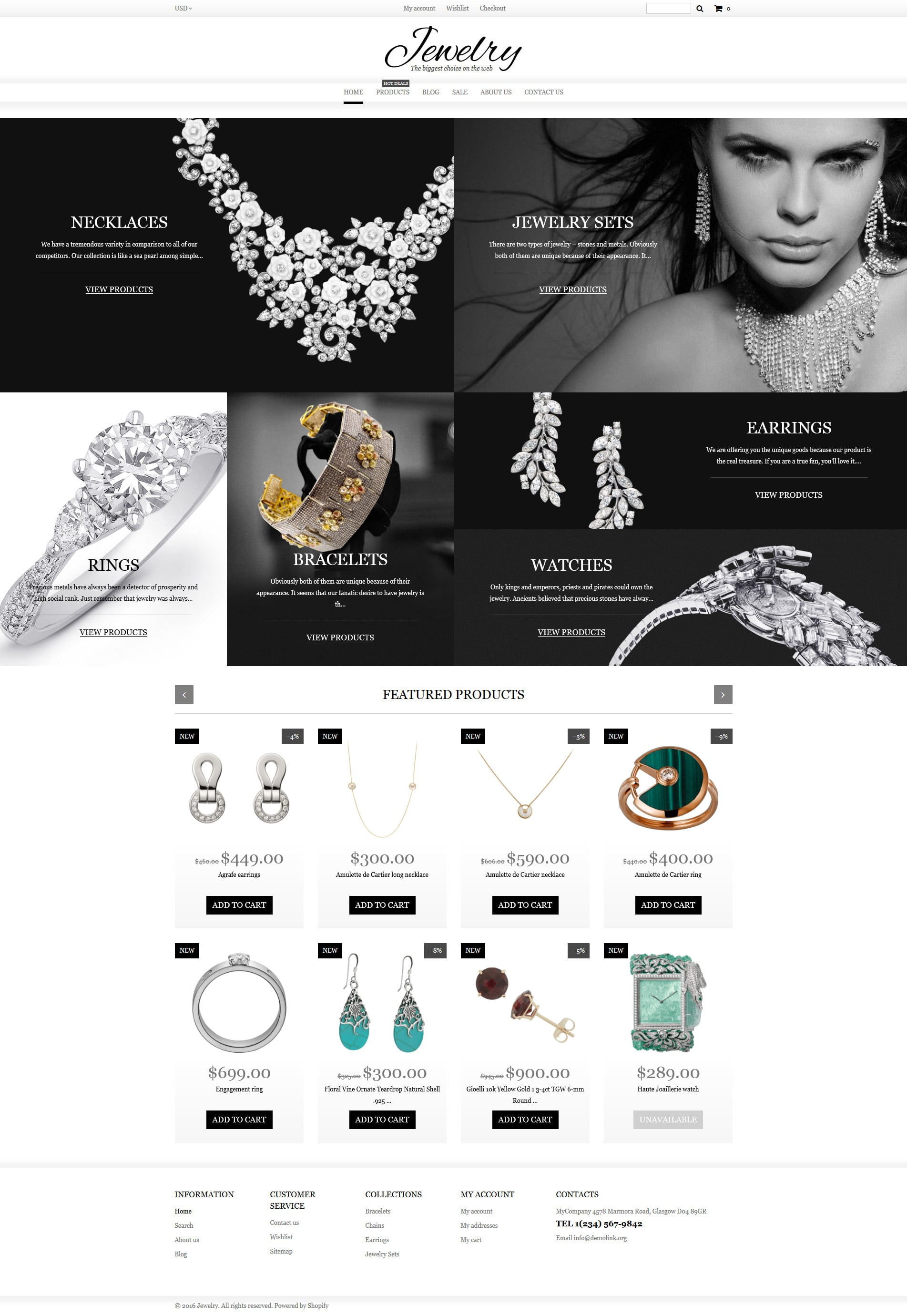 Jewelry Shopify Theme