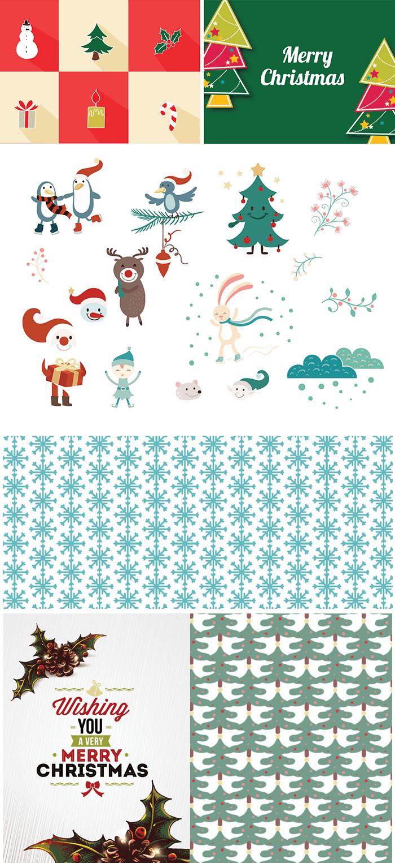 150+ Free Christmas Graphics: Fonts, Images, Vectors, Patterns & Premium Bundles - 700px sample