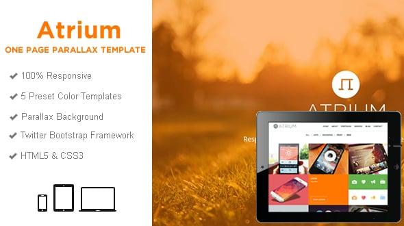 Atrium Portfolio Html5 Template