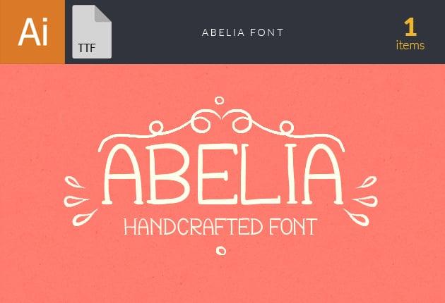 font-abelia-small1