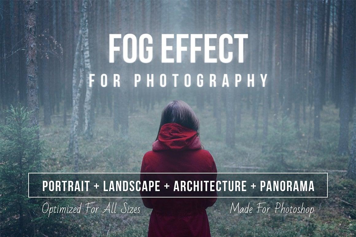 Fog Effect for Photoshop CS4+