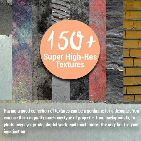 150+ Super High-Res Textures – Only $19 - textures 490x490
