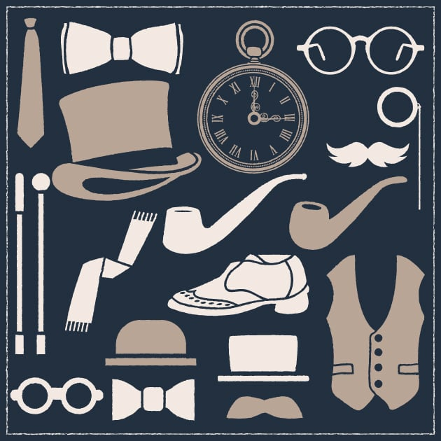 vector-gentleman-apparel-vintage-vector-set-1