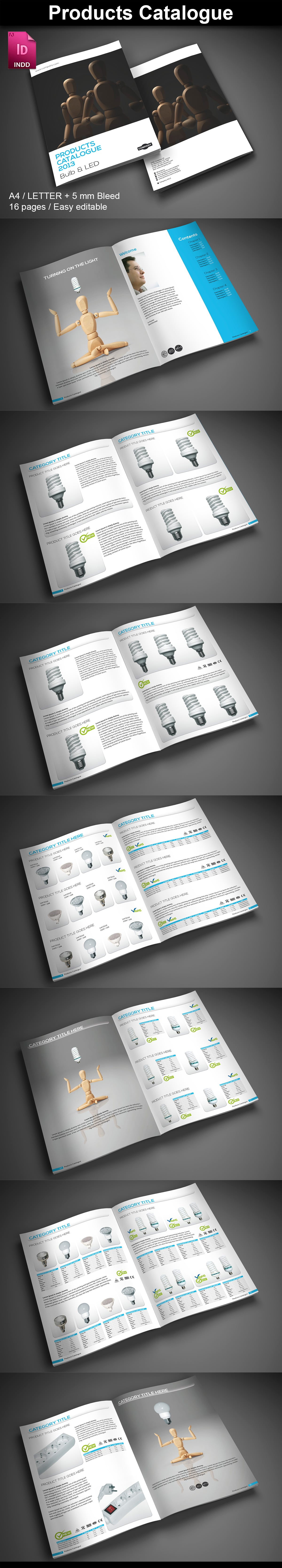 15  InDesign Product Catalogs - just $19 - 01 Products1 ImagePreview