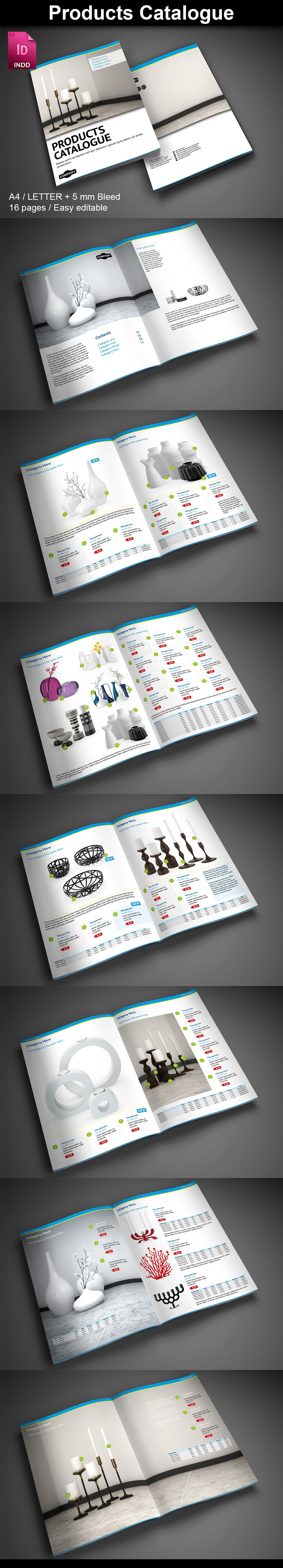 15  InDesign Product Catalogs - just $19 - 08 Products8 ImagePreview