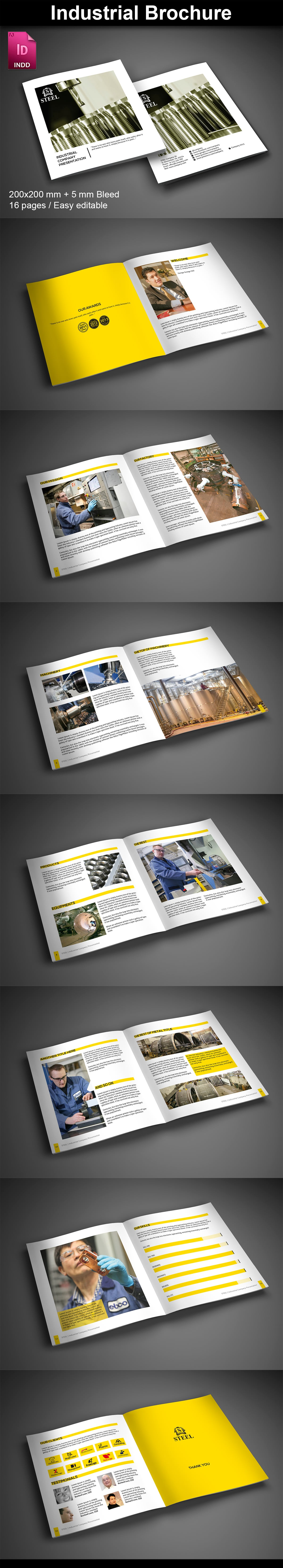 15  InDesign Product Catalogs - just $19 - 09 Industrial ImagePreview