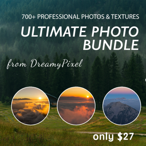 700+ Stock Photos from DreamyPixel. Ultimate Photo Bundle - 444 490x490