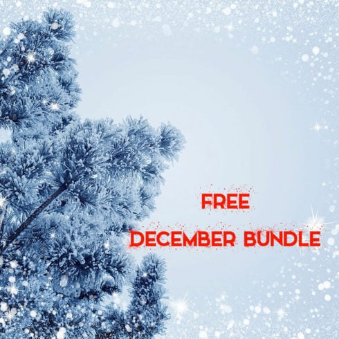 Free December Bundle: Icons, posters and themes - 490 12 490x490