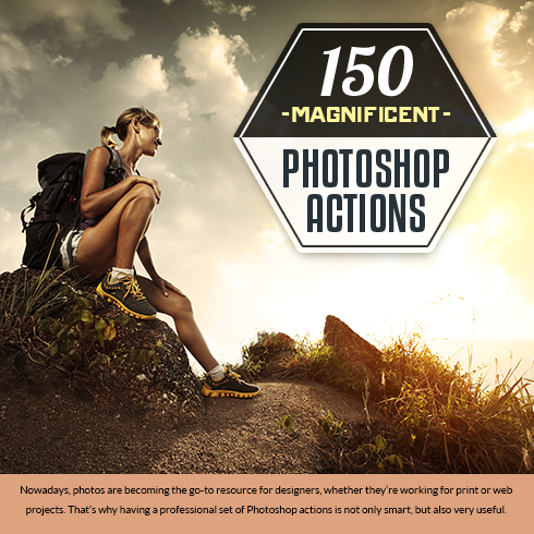 150 Magnificent Photoshop Actions + Bonus – Only $19 - 490x490 4