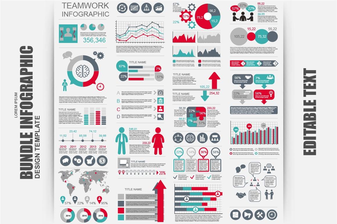 Big Bundle Infographic Elements