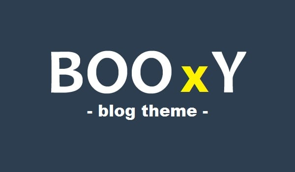 Booxy WordPress Blog Theme