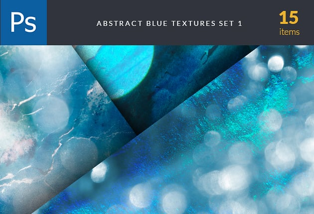 The Web Design Mega Set – Hundreds of Premium Resources for Only $19 - designtnt textures abstract blue set preview 630x430