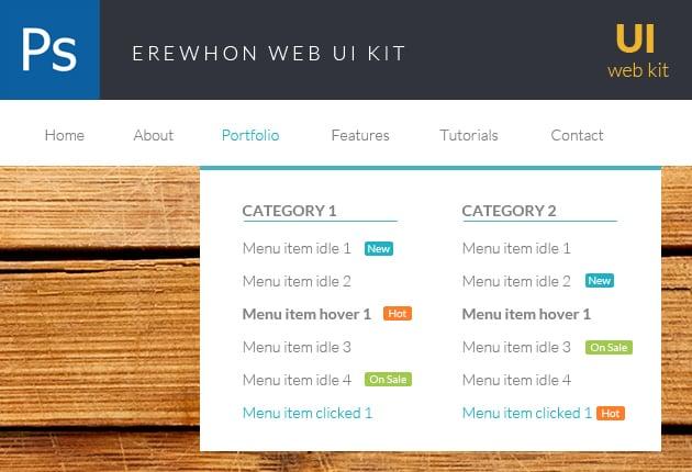 The Web Design Mega Set – Hundreds of Premium Resources for Only $19 - designtnt web ERWEHON small