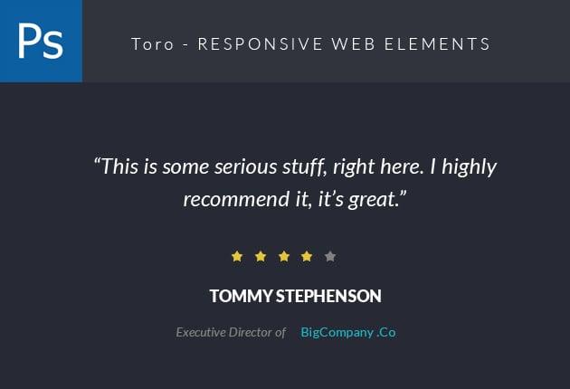 The Web Design Mega Set – Hundreds of Premium Resources for Only $19 - designtnt web Toro small