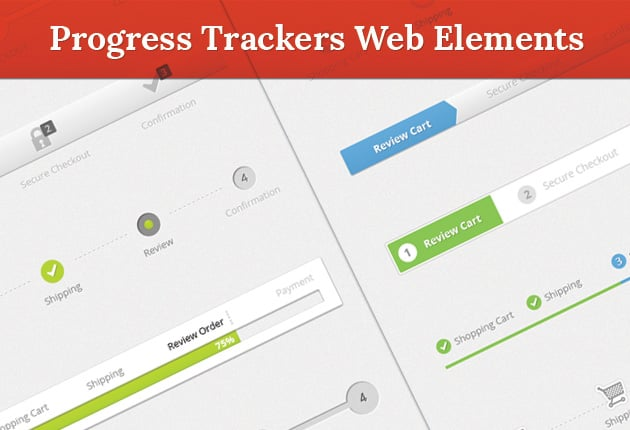 The Web Design Mega Set – Hundreds of Premium Resources for Only $19 - designtnt web progress trackers preview small