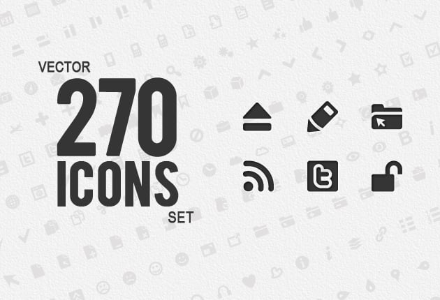 The Web Design Mega Set – Hundreds of Premium Resources for Only $19 - icons preview small