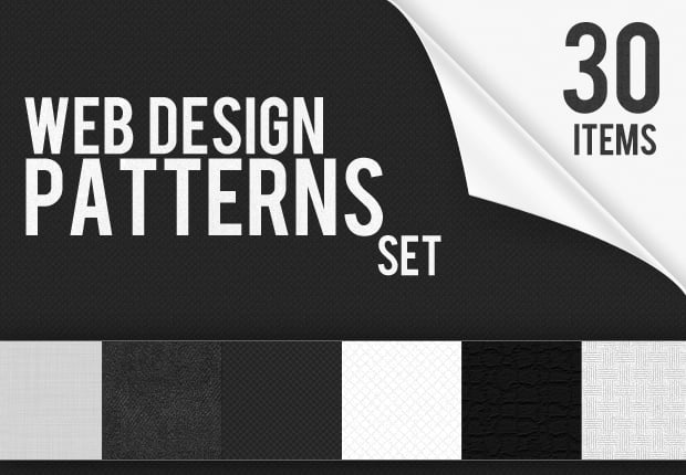 The Web Design Mega Set – Hundreds of Premium Resources for Only $19 - web design patterns small