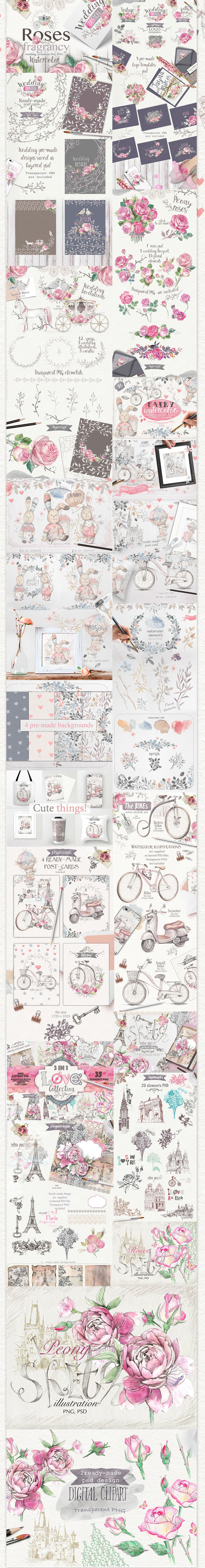 LOVE Collection: 90 designs with 90% OFF