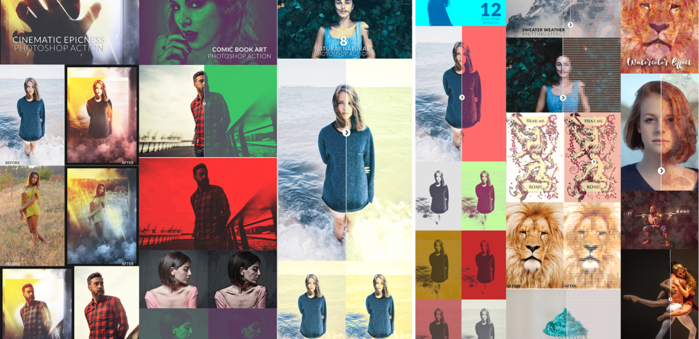 Easy Peasy PhotoShop Actions Toolkit – Only $29
