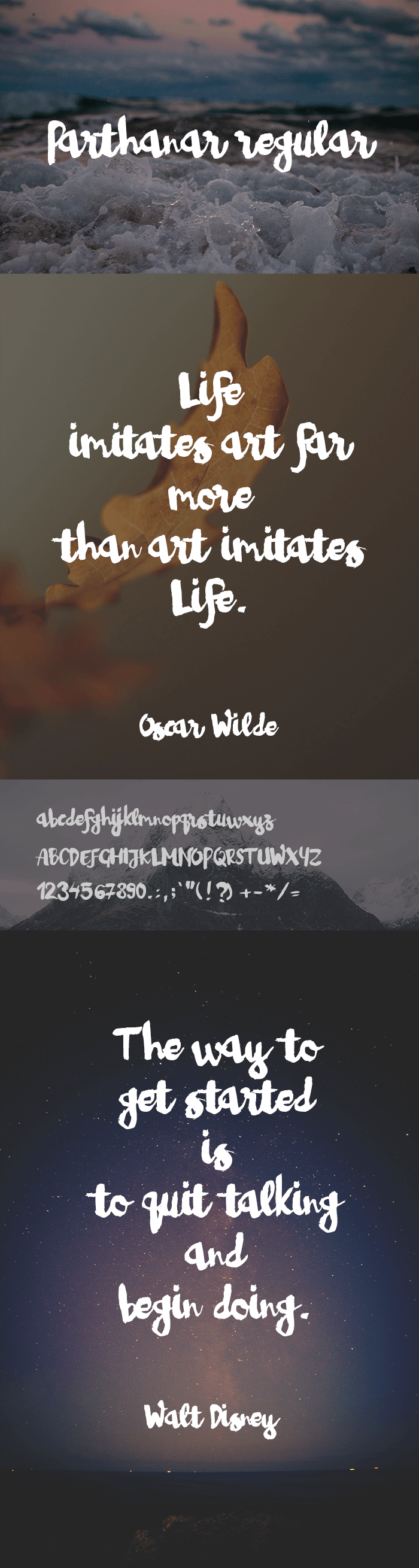 simple clean fonts