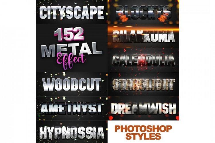 1600+ Mega Bundle Photoshop Styles