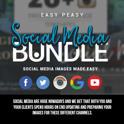 Social Media Bundle with 35+ Awesome Resources - 490x490 1f
