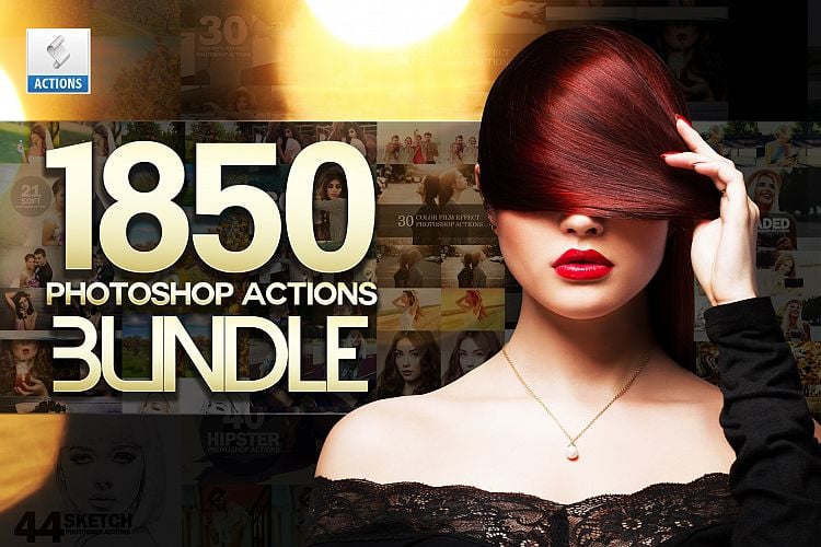 1850 Photoshop Actions with 95% OFF