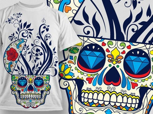 Be in Trend With T Shirt Design Vector Pack. $49 - designious vector tshirt design 477 490x365