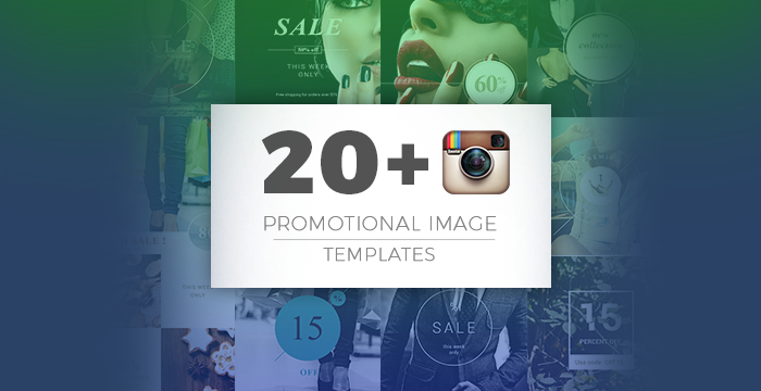 20+ Instagram Promotional Image Templates