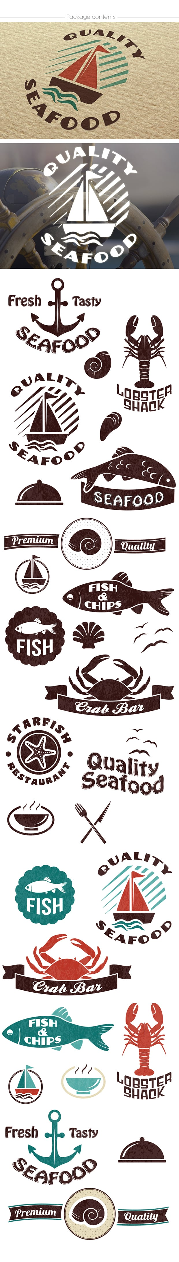 The Essential Branding Kit with 500+ Resources – Only $45 - logozilla2 logo builder seafood large1