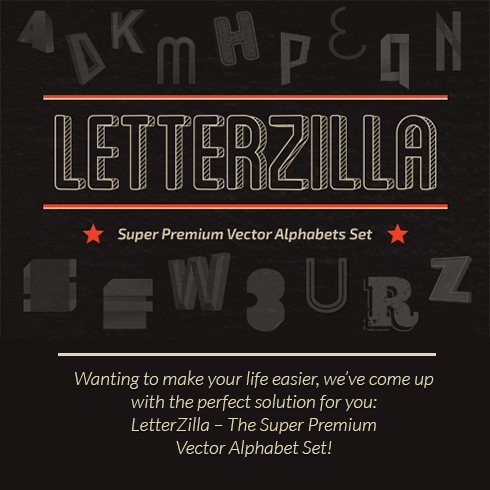 The Super Premium Vector Alphabets Set for Only $10 - 490x490 7