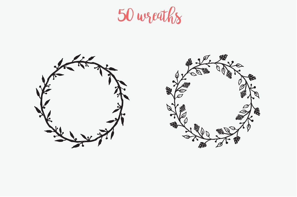 1900+ Hand-drawn Illustration with extended license