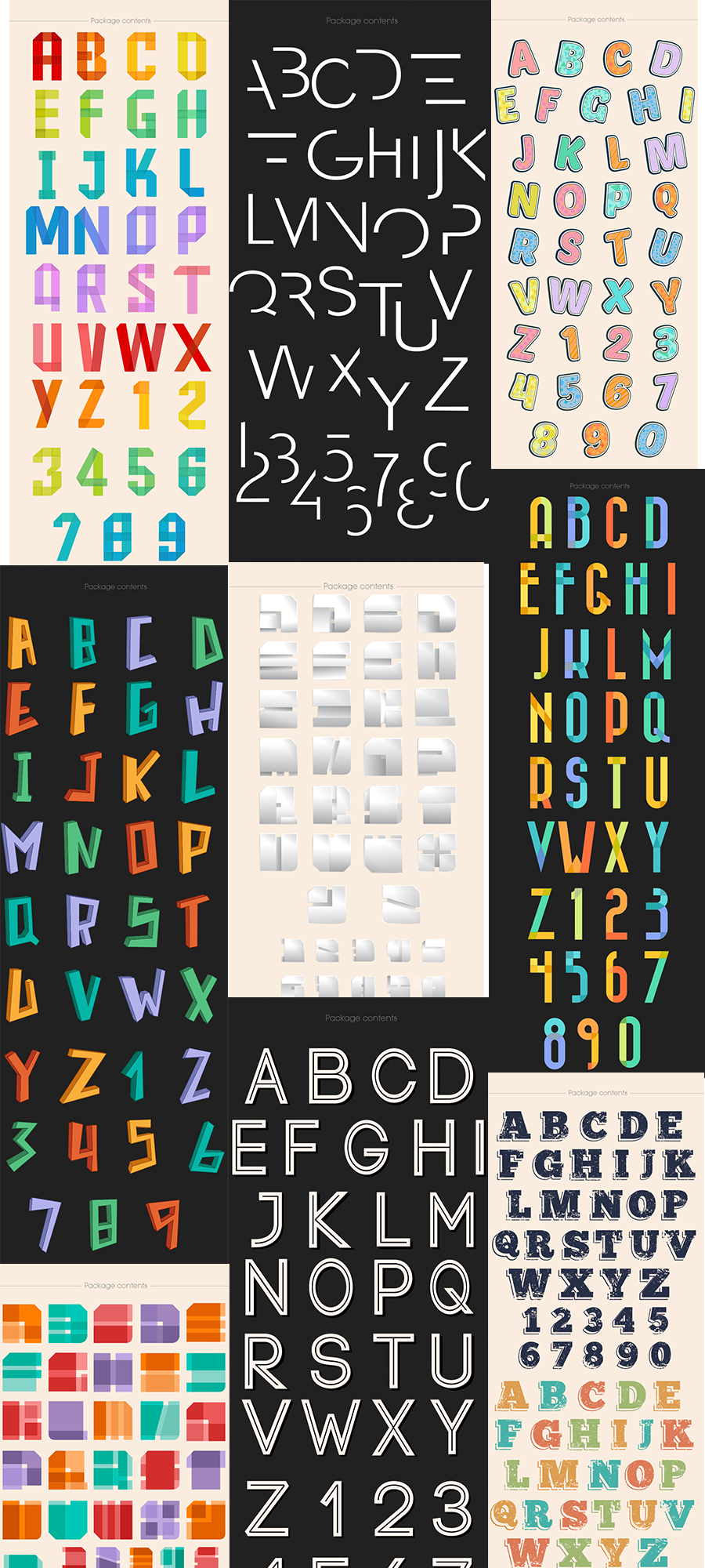 The Super Premium Vector Alphabets Set for Only $10 - 900x2000 4