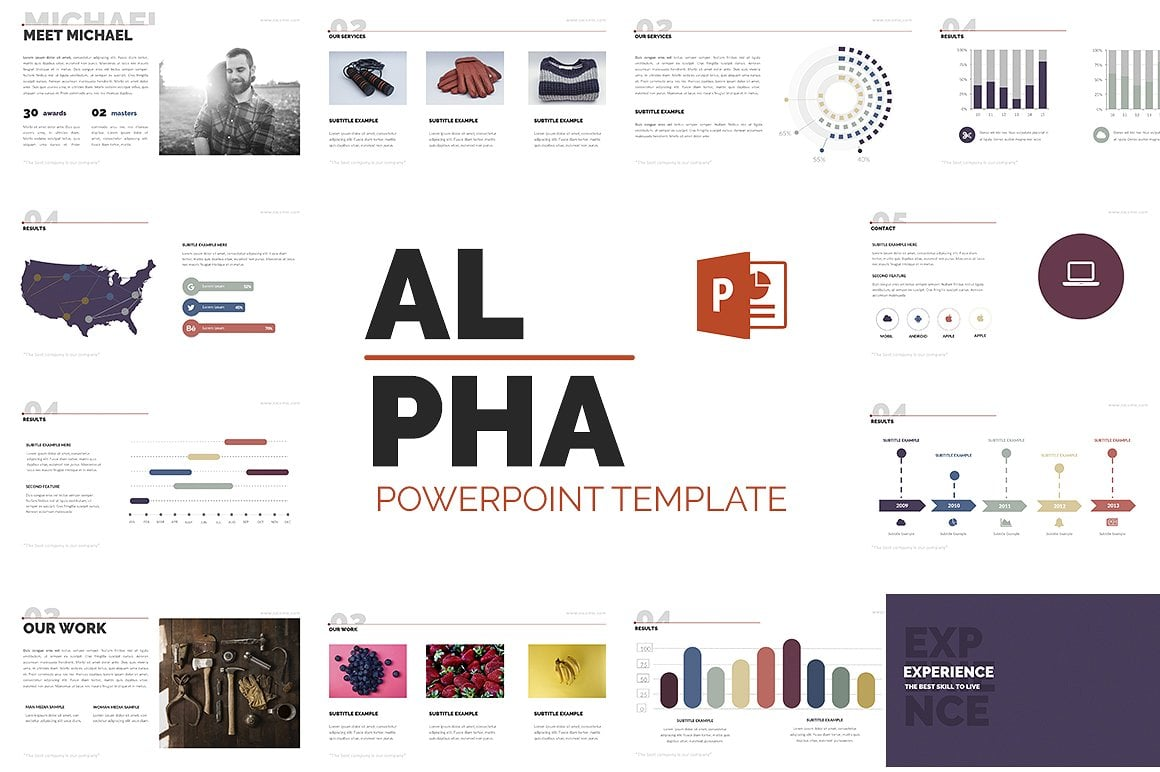 20 Powerpoint Templates with 81% OFF - Alpha 01