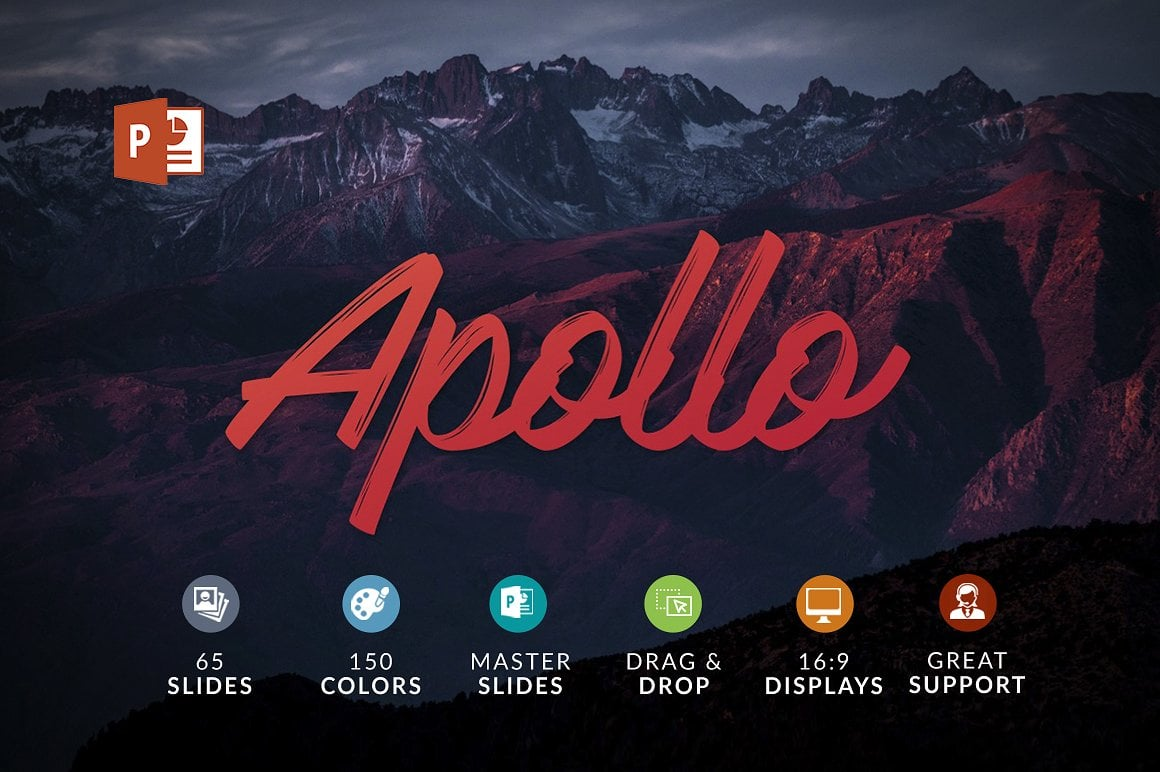 20 Powerpoint Templates with 81% OFF - Apollo 01