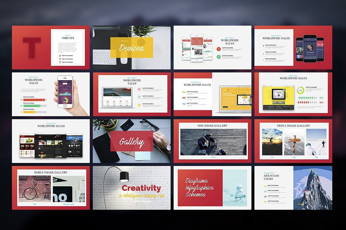 20 Powerpoint Templates with 81% OFF - Apollo 04