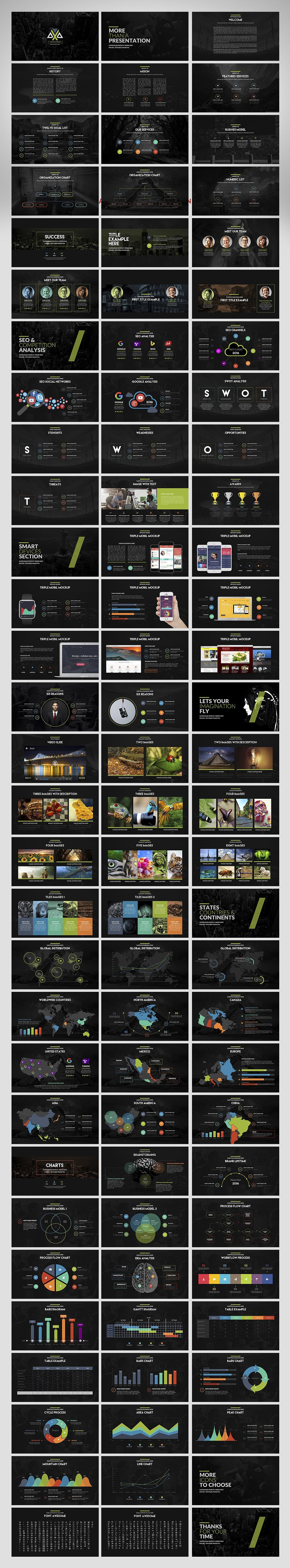 20 Powerpoint Templates with 81% OFF - Axa 02