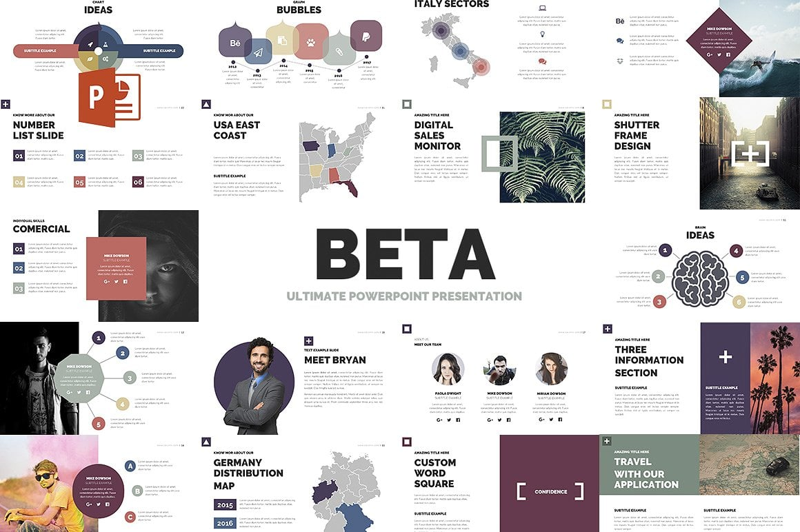 20 Powerpoint Templates with 81% OFF - Beta 01