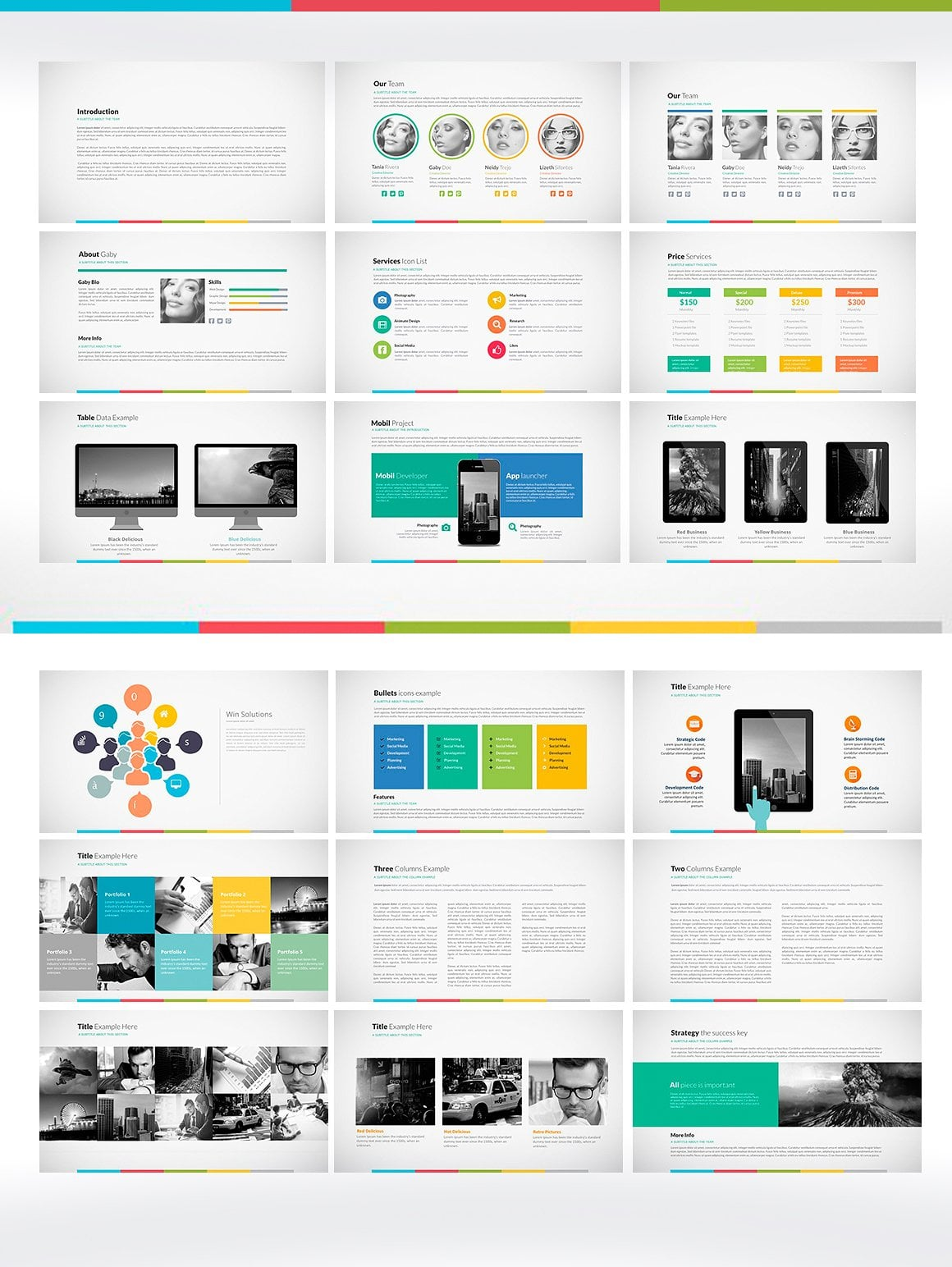 20 Powerpoint Templates with 81% OFF - Big Pitch 02