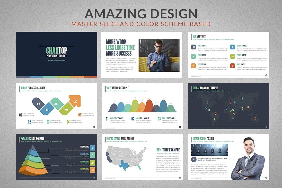 20 Powerpoint Templates with 81% OFF - Chartop 02