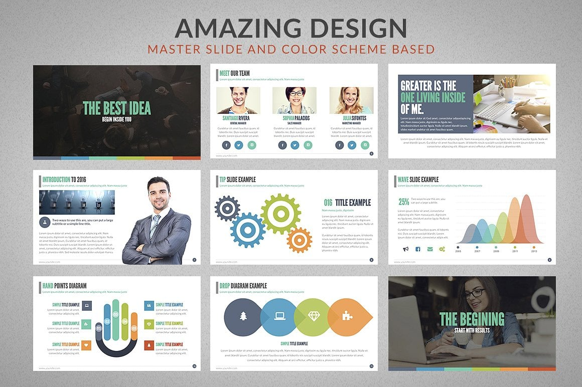 20 Powerpoint Templates with 81% OFF - Chartop 03