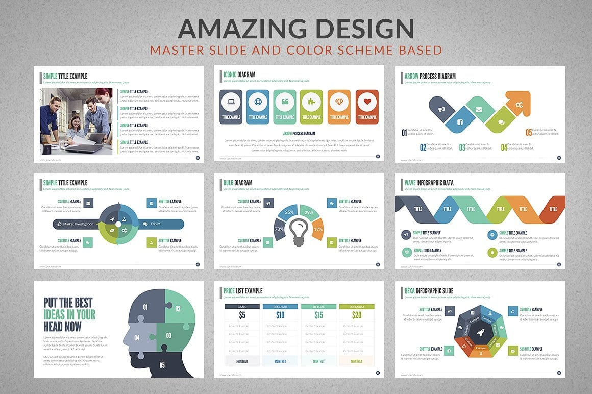 20 Powerpoint Templates with 81% OFF - Chartop 04