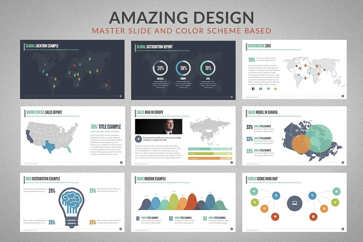 20 Powerpoint Templates with 81% OFF - Chartop 05