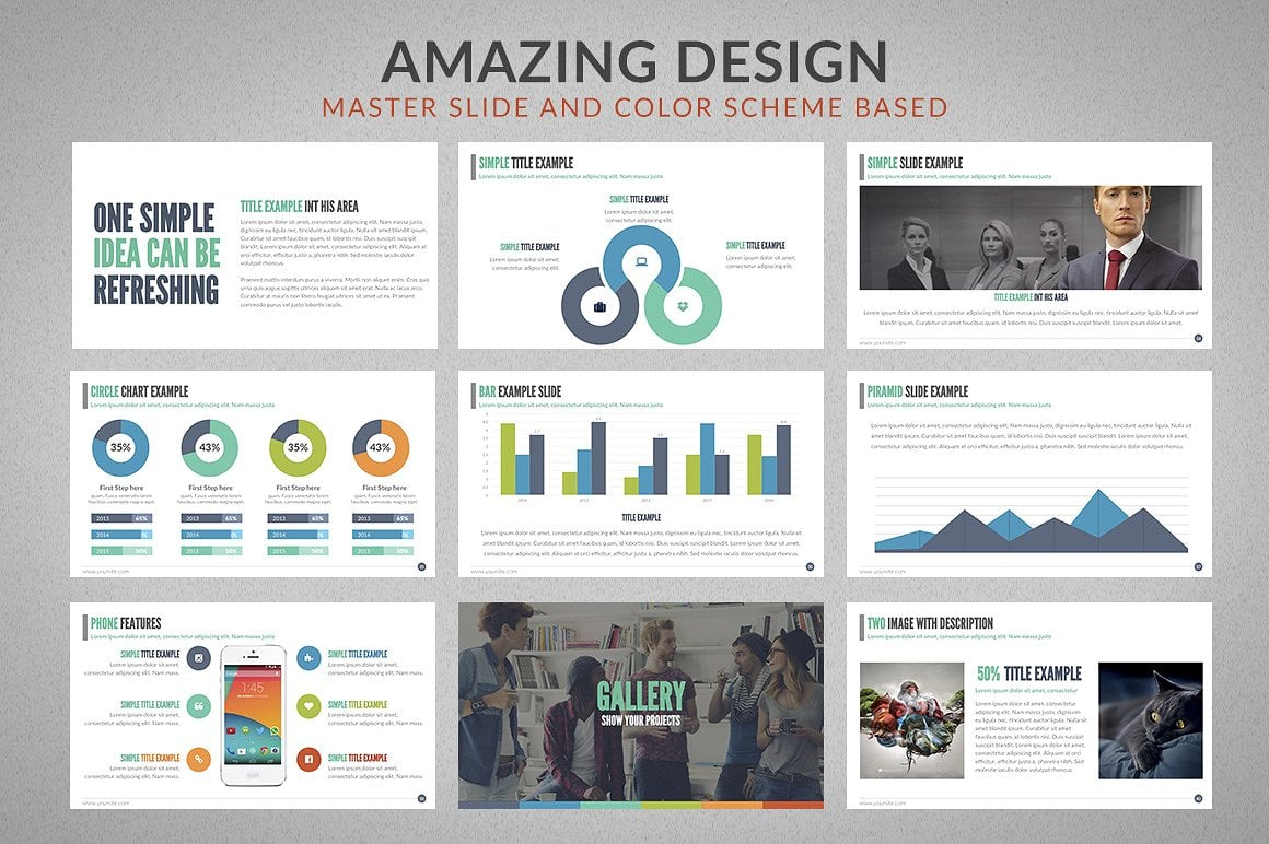 20 Powerpoint Templates with 81% OFF - Chartop 06