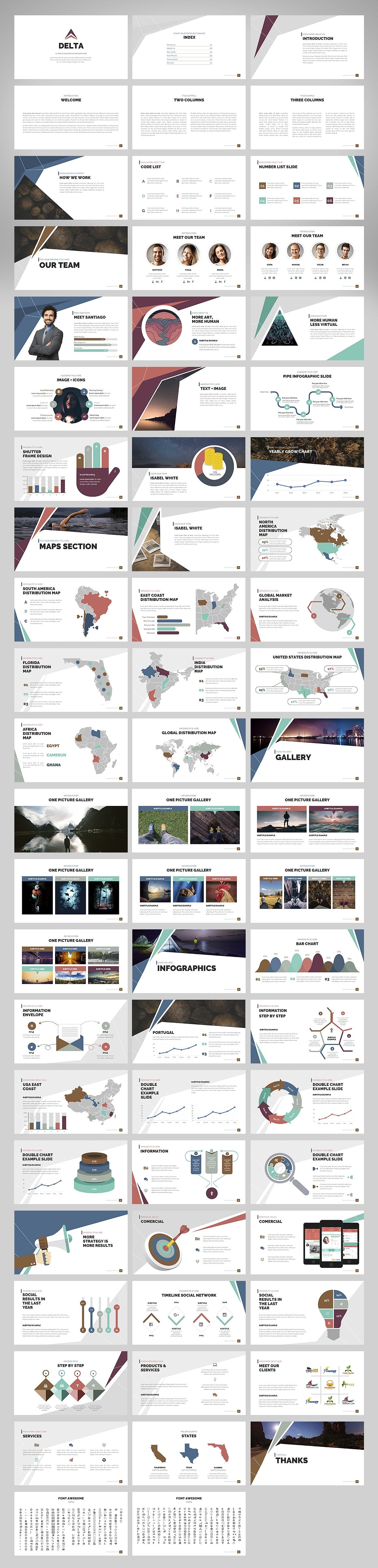 20 Powerpoint Templates with 81% OFF - Delta 02