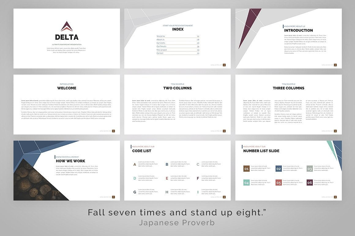 20 Powerpoint Templates with 81% OFF - Delta 04