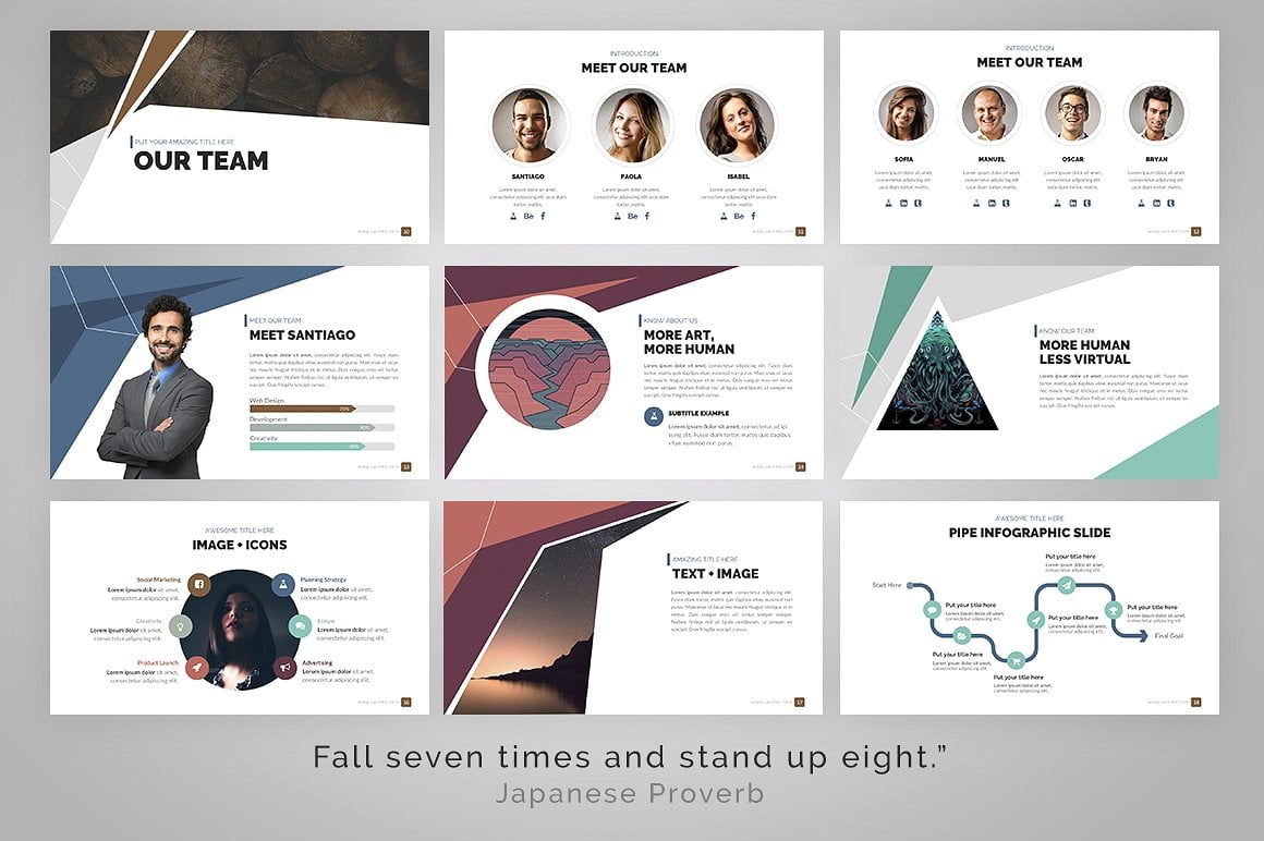 20 Powerpoint Templates with 81% OFF - Delta 05