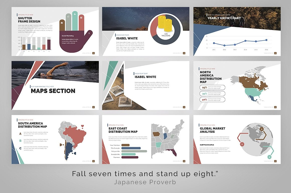 20 Powerpoint Templates with 81% OFF - Delta 06